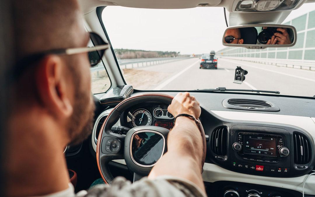 Automobilismo e dolore al polso